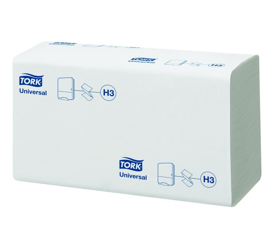 Tork листовые полотенца Singlefold сложения ZZ 1-сл 300л, коробка 15 шт290158Целлюлоза