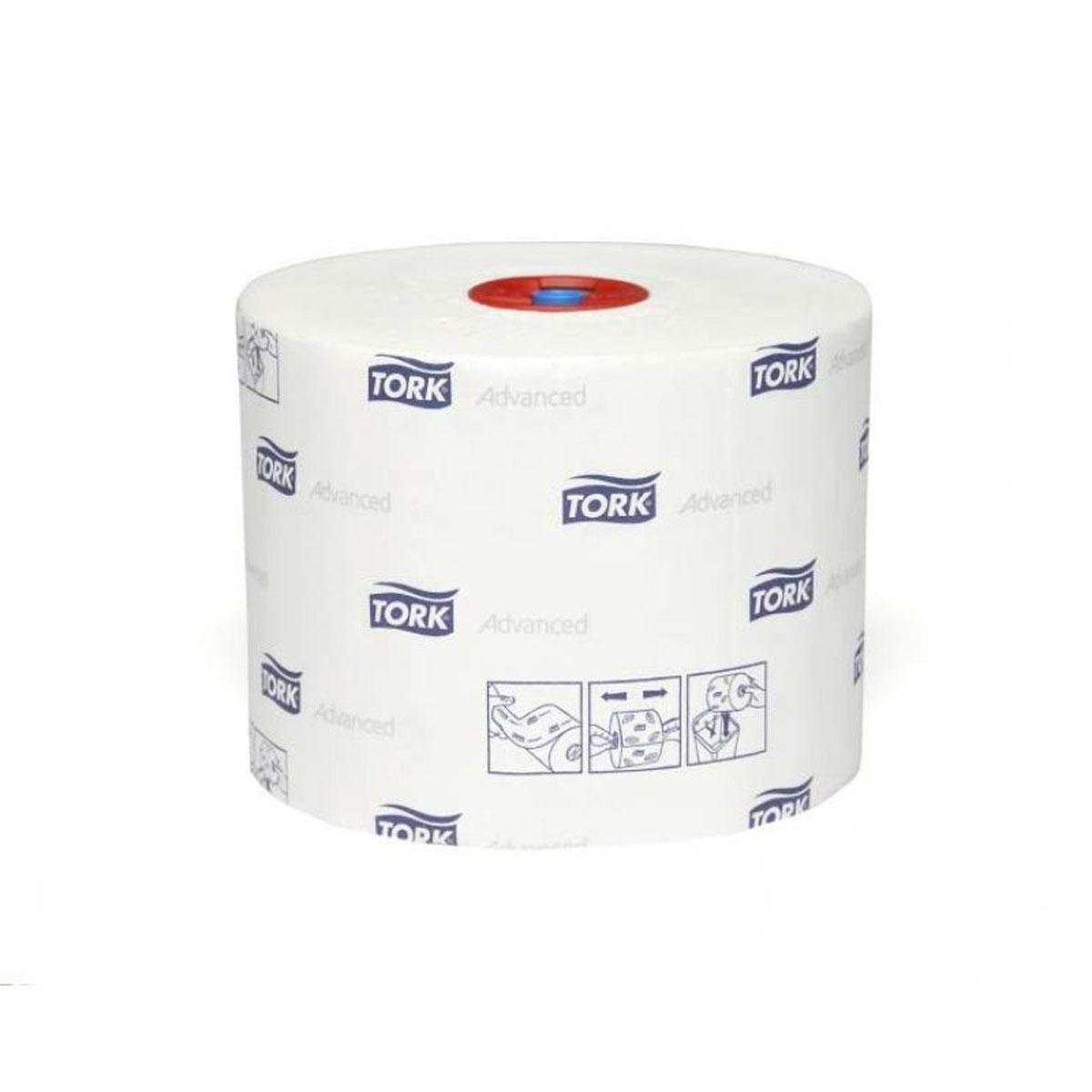Tork туалетная бумага Mid-size в миди рулонах 2-сл. 100м, коробка 27 шт127530Целлюлоза
