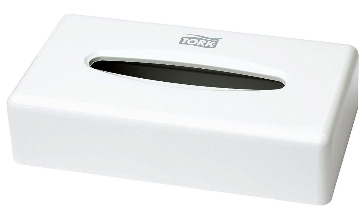 Диспенсер для бумажных полотенец Tork, цвет: белый. 270023270023Tork диспенсер для салфеток для лица (F1), подходит под салфетки для лица Tork F1. Стильный дизайн - подходит к любой туалетной комнате. Предусмотрена возможность крепления к стене.