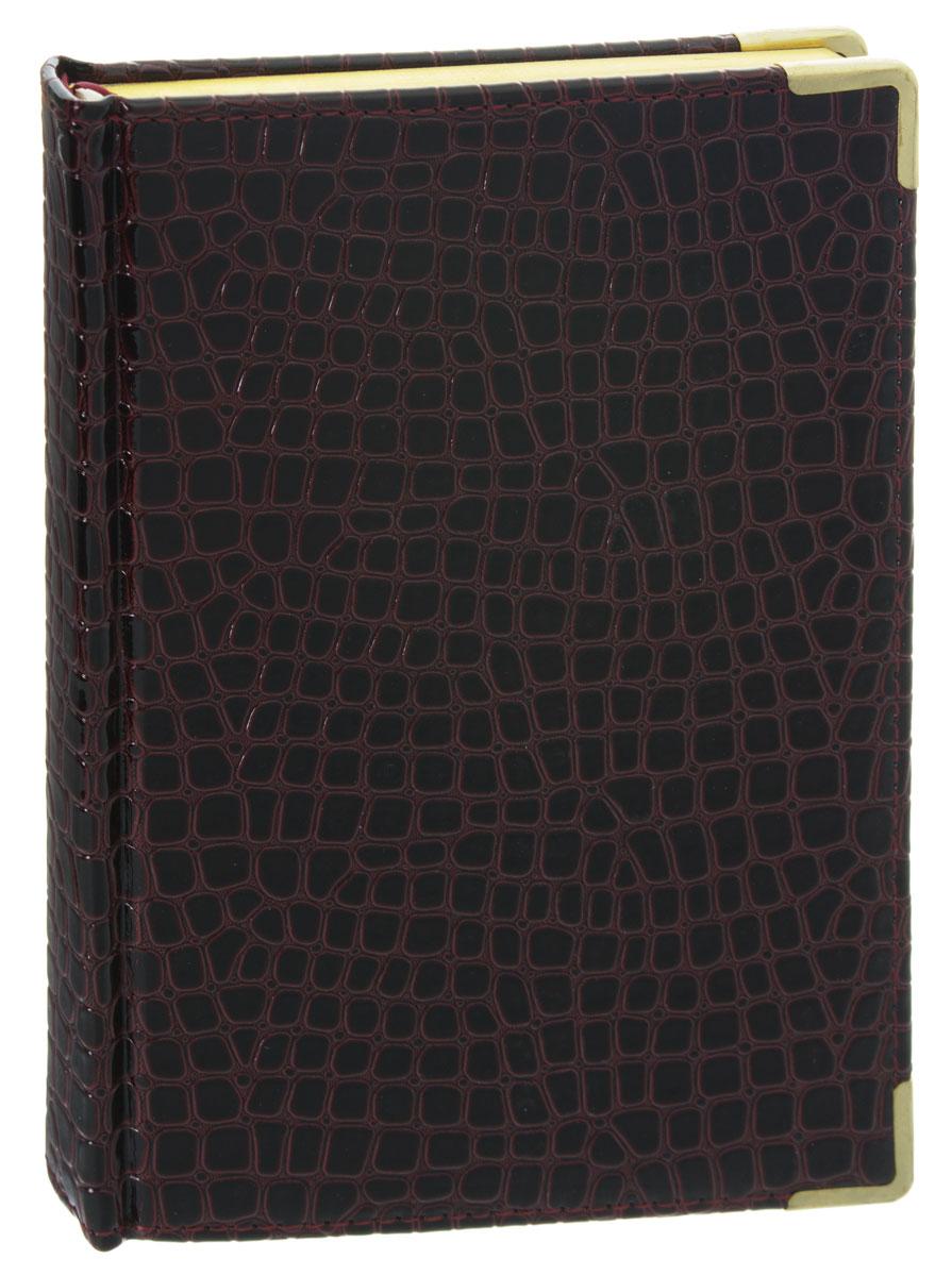 Listoff Записная книжка Iguana 120 листов в клеткуКЗК5120105Записная книжка Listoff Iguana - незаменимый атрибут современного человека, необходимый для рабочих и повседневных записей в офисе и дома. Обложка выполнена из высококачественной искусственной кожи, с прострочкой по периметру и поролоновой подкладкой. Записная книжка имеет трехсторонний золотой обрез и двойное ляссе. Книжка содержит 120 листов в клетку. Металлические закругленные углы защищают листы при активном использовании. Записная книжка Listoff Iguana станет достойным аксессуаром среди ваших канцелярских принадлежностей. Она пригодится как для деловых людей, так и для любителей записывать свои мысли, писать мемуары или делать наброски новых стихотворений.