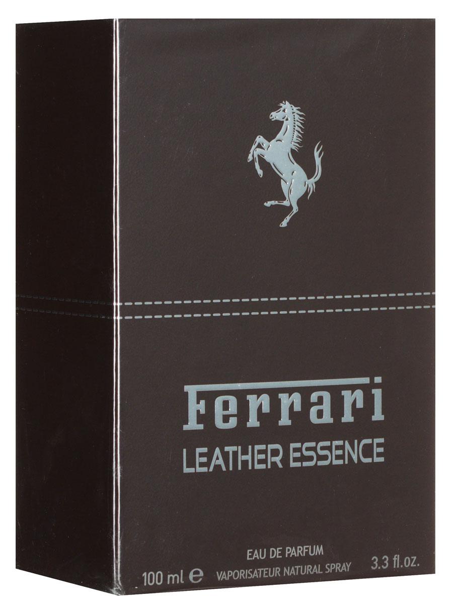 Ferrari Парфюмерная вода LEATHER ESSENCE мужская, 100 мл67000106Парфюмерная коллекция Essence бренда Ferrari пополняется еще одним ароматом для мужчин. Новинка названа Leather Essence и вдохновлена роскошным кожаным салоном спорткара Ferrari GT. Удобные кресла, облаченные в эластичную, изящно текстурированную и безупречное скроенную кожу, свидетельствуют об абсолютном внимании Ferrari к деталям. Роскошь, элегантность и чувственность - все это отражено и в Ferrari Leather Essence. В основе аромата - игра богатых амброво-кожаных и глубоких древесных нот. Цель: используя высококачественные ингредиенты, передать чувственность и мощь, с которыми ассоциируется знаменитый автомобильный бренд Ferrari! Композиция Leather Essence открывается цитрусово-пряными аккордами горького апельсина, бергамота и бутонов гвоздики. Соблазнительное сердце построено вокруг аккорда темной кожи, дополненного корой корицы и дымными бобами тонка. Глубокая и мужественная древесная база создана из пачули, гваякового дерева и кедра, чуть смягченных прикосновением ванили