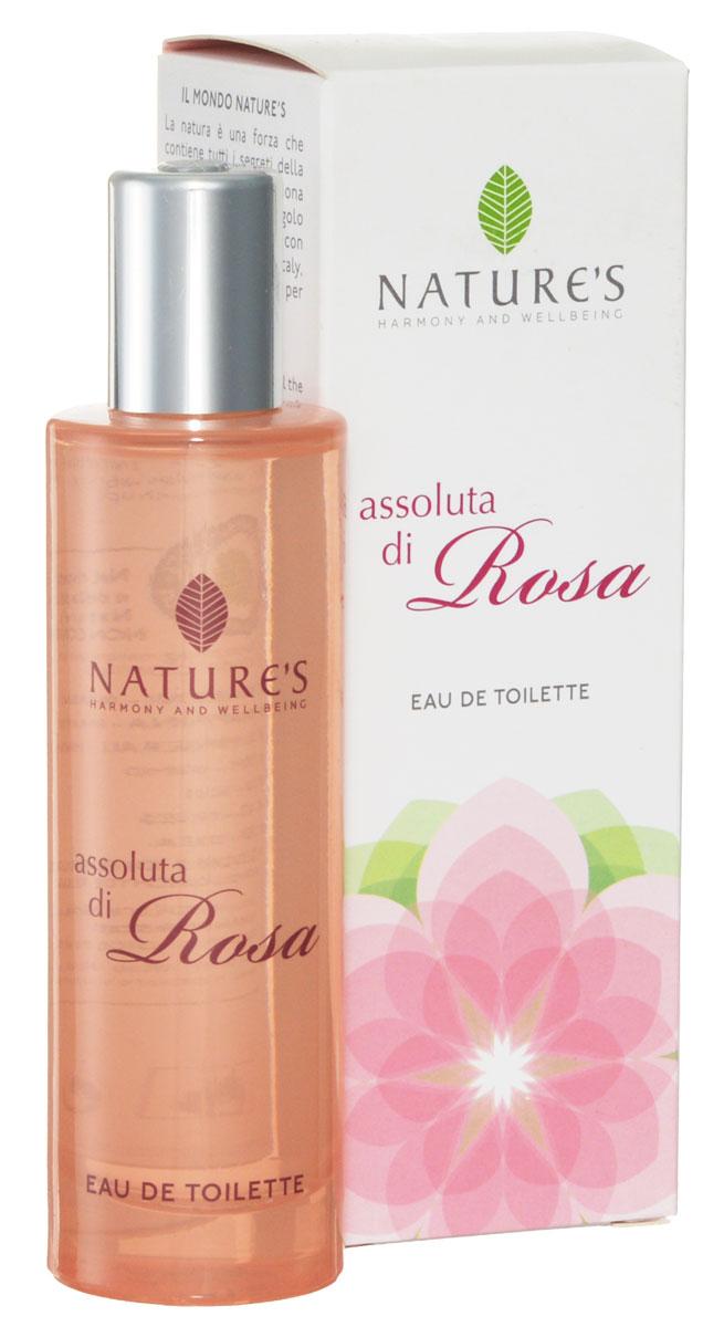 Туалетная вода Natures Assoluta di Rosa, 50 мл