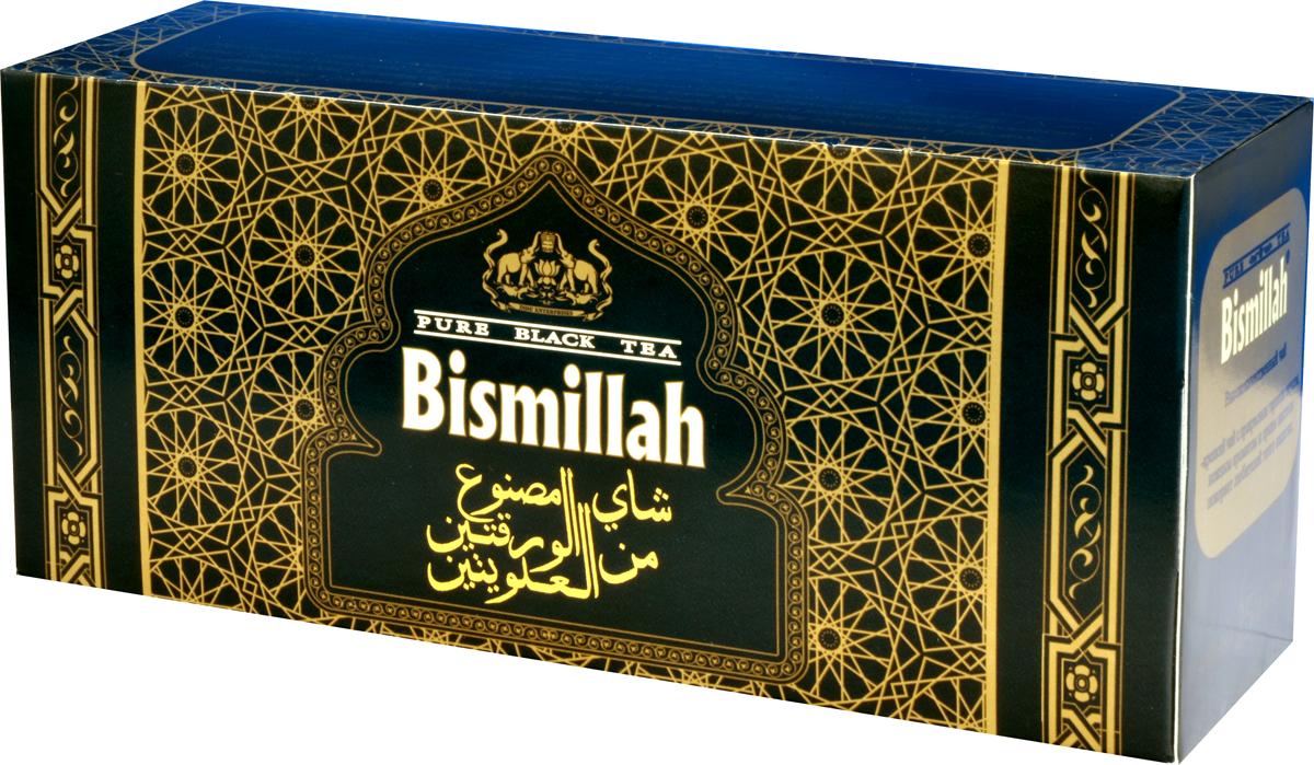 Bismillah Black черный чай в пакетиках, 25 шт