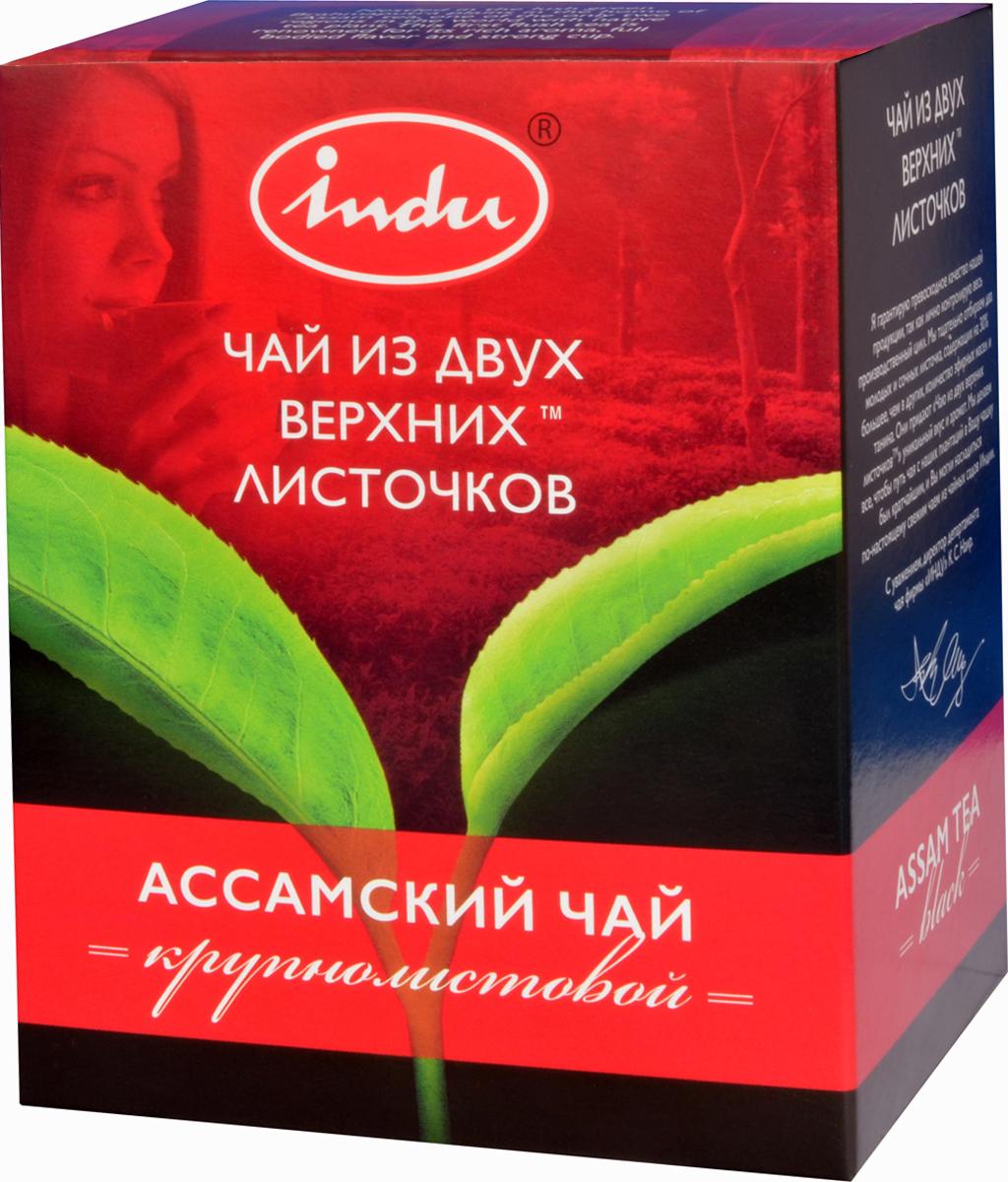 Indu Ассам TGFOP черный листовой чай, 90 гTTL-BIN-201Родина чая Indu Ассам TGFOP – бескрайние покрытые зеленью равнины реки Брахмапутры, один из двух регионов на Земле, где чай произрастал с незапамятных времен. Слава о необычном вкусе, насыщенном аромате и крепком настое известна по всему миру.