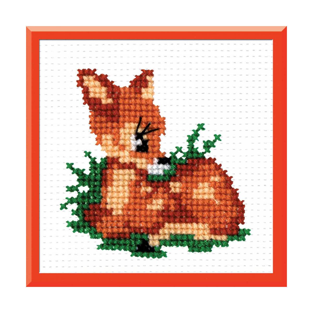 Набор для вышивания РС-Студия Бемби, 8 см х 8 см. 868484189
