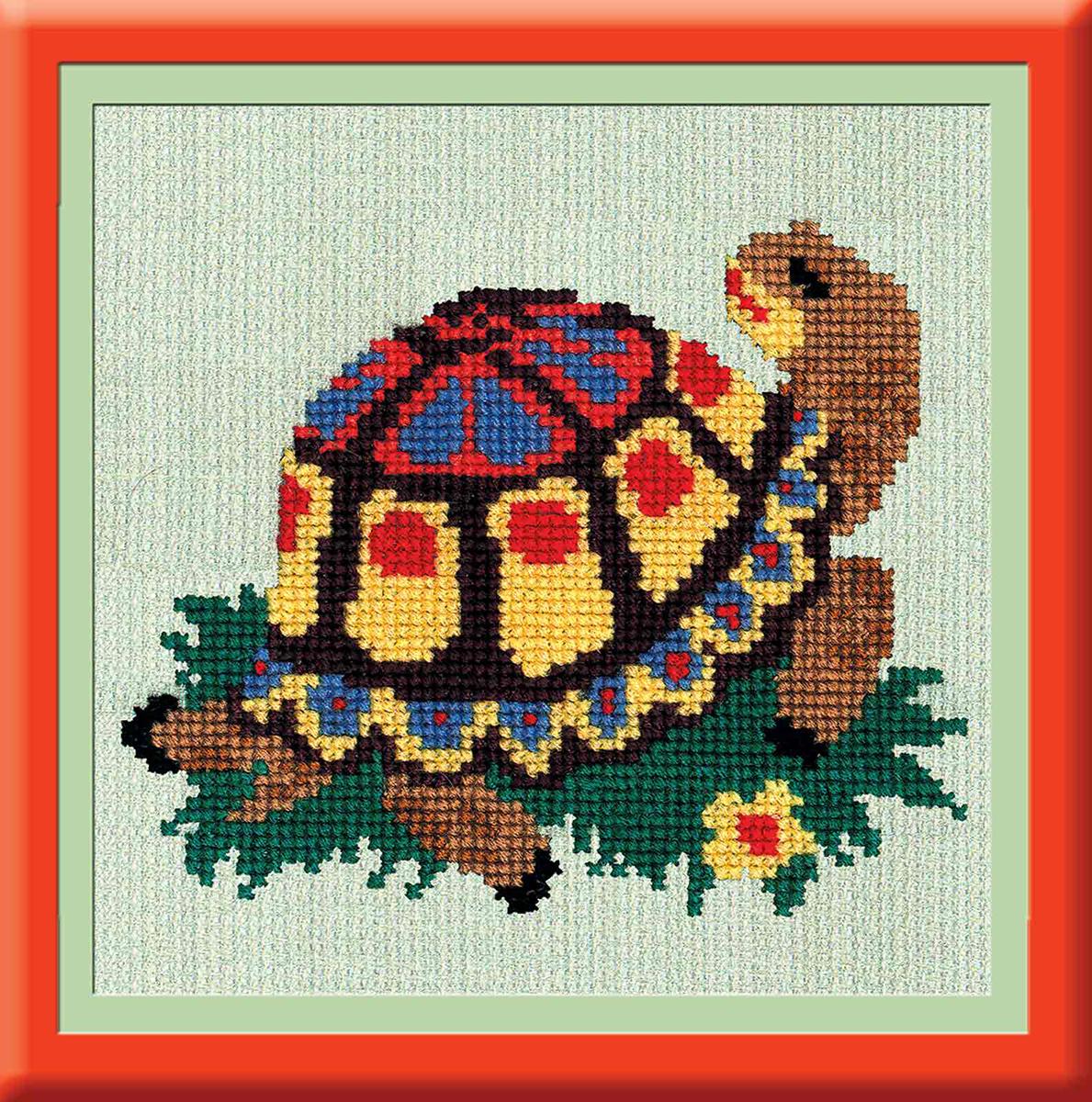 Набор для вышивания РС-Студия Черепаха, 13 см х 15 см. 866547599