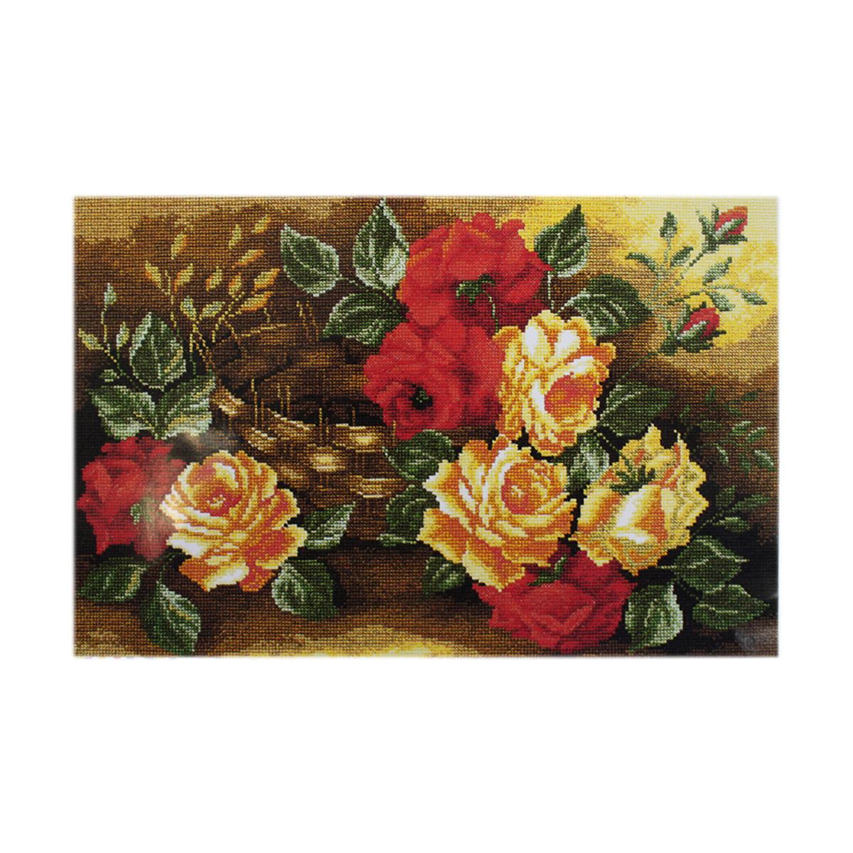 Набор для вышивания РС-Студия Розы, 42 см х 60 см. 848582248