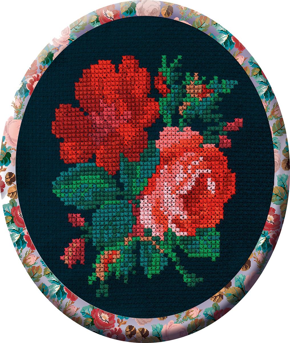 Набор для вышивания РС-Студия Розы, 10 см х 12 см. С017Н642023