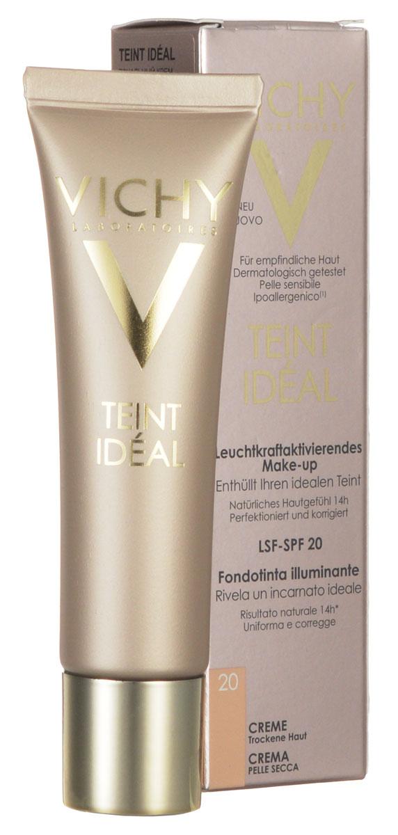 Vichy Тональный крем Teint Ideal тон № 20, 30 мл3337871329969