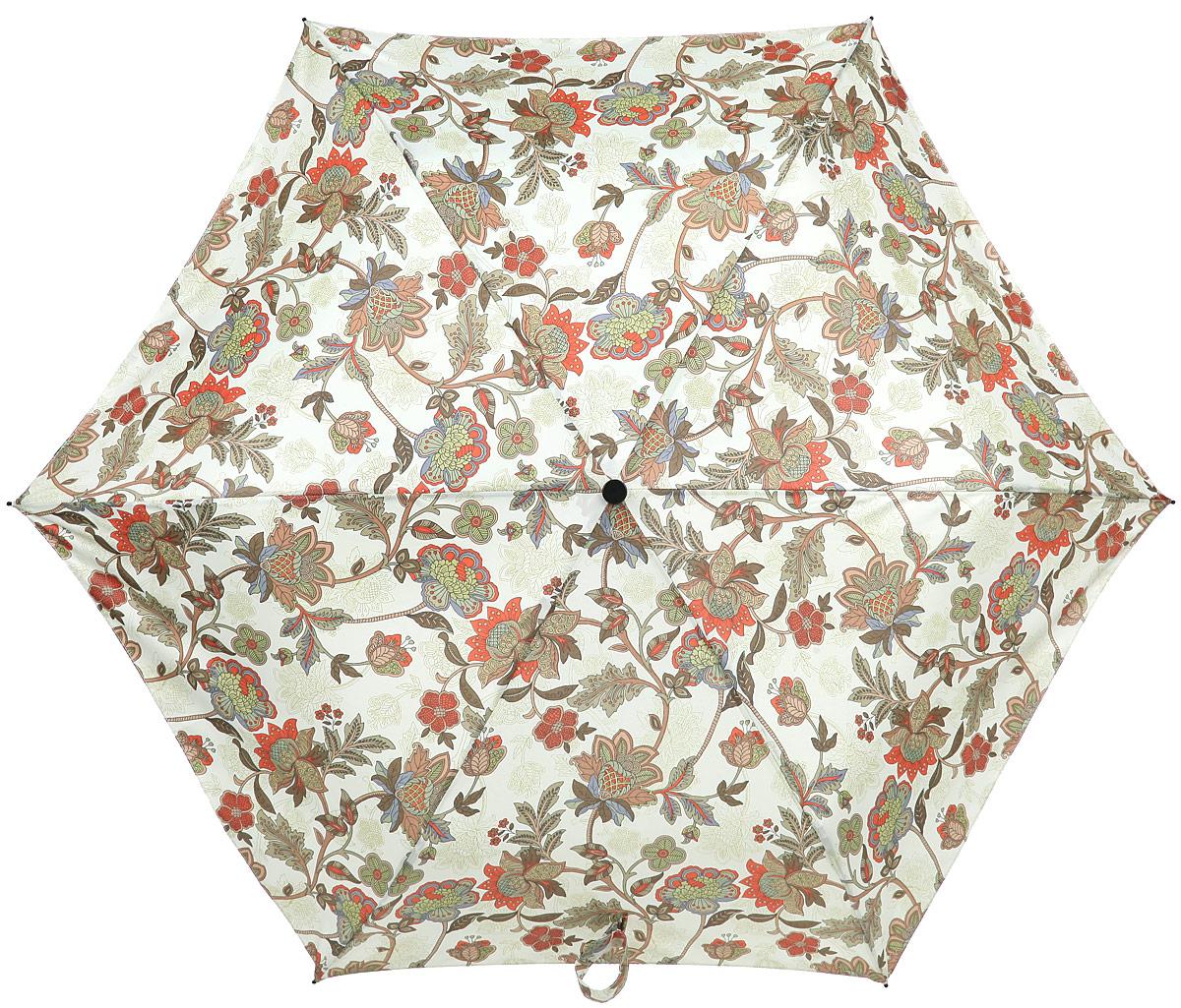 Зонт женский Labbra, автомат, 3 сложения, цвет: салатовый. A3-05-LR033