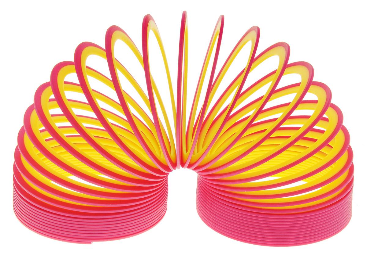 Slinky Пружинка Neon цвет красный желтыйСЛ122 красный, желтыйПружинка Slinky появилась после Второй Мировой Войны. Эта пружинка - одна из самых любимых и известных игр в мире. Из пружинок делали гирлянды, играли с ними, запутывали, распутывали, пытались заставить ходить по ступенькам лестницы. Пружинка Slinky была в каждом доме. Порадуйте и вы себя этой увлекательной игрой с новой пружинкой Slinky Neon.