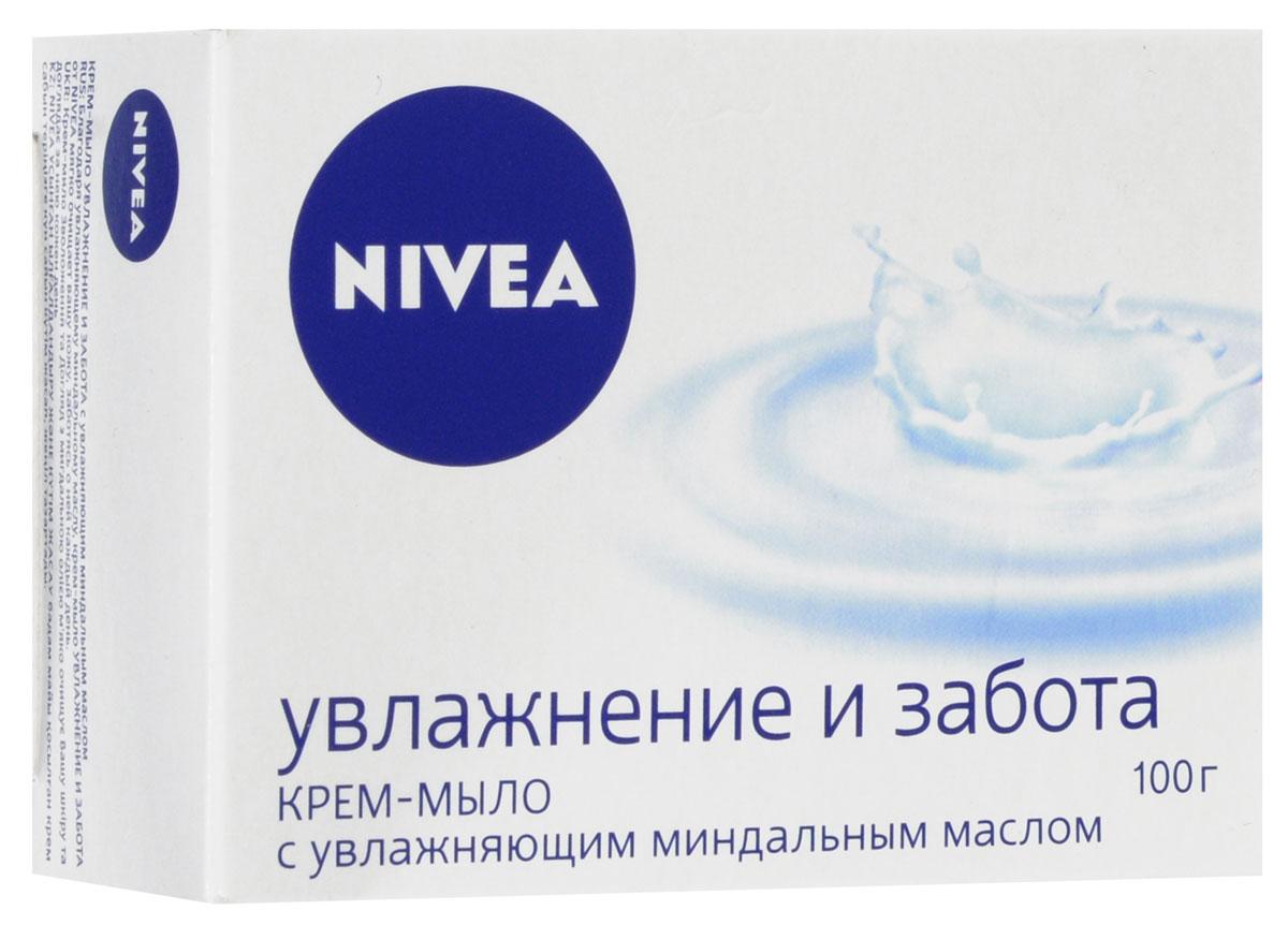 Nivea Крем-мыло для тела Нежное увлажнение 100 гр.1002435•Крем-мыло НЕЖНОЕ УВЛАЖНЕНИЕ с миндальным маслом мягко очищает вашу кожу и заботится о ней каждый день.