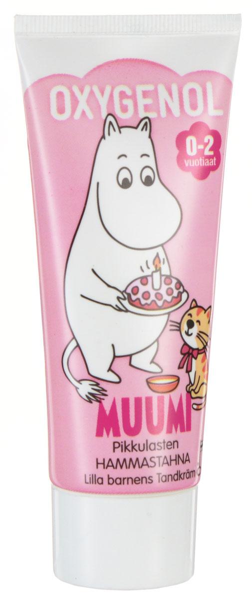 Berner Зубная паста Oxygenol Muumi, детская, цвет: розовый, от 0-2 лет, 50 мл10968_розовыйДетская зубная паста Oxygenol Muumi разработана специально для защиты молочных зубов. Содержит фтор, который укрепляет зубную эмаль и защищает от кариеса. Эффективно и нежно очищает зубной налет. Имеет натуральный фруктовый вкус. Герои сказки о Муми-Троллях превратят чистку зубов в увлекательное занятие. Товар сертифицирован.