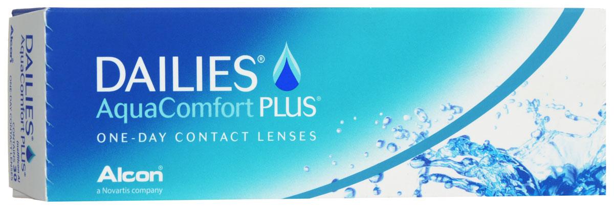Alcon-CIBA Vision контактные линзы Dailies AquaComfort Plus (30шт / 8.7 / 14.0 / -3.75)38452Dailies AquaComfort Plus - это одни из самых популярных однодневных линз производства компании Ciba Vision. Эти линзы пользуются огромной популярностью во всем мире и являются на сегодняшний день самыми безопасными контактными линзами. Изготавливаются линзы из современного, 100% безопасного материала нелфилкон А. Особенность этого материала в том, что он легко пропускает воздух и хорошо сохраняет влагу. Однодневные контактные линзы Dailies AquaComfort Plus не нуждаются в дополнительном уходе и затратах, каждый день вы надеваете свежую пару линз. Дизайн линзы биосовместимый, что гарантирует безупречный комфорт. Самое главное достоинство Dailies AquaComfort Plus - это их уникальная система увлажнения. Благодаря этой разработке линзы увлажняются тремя различными агентами. Первый компонент, ухаживающий за линзами, находится в растворе, он как бы обволакивает линзу, обеспечивая чрезвычайно комфортное надевание. Второй агент выделяется на протяжении всего дня, он...