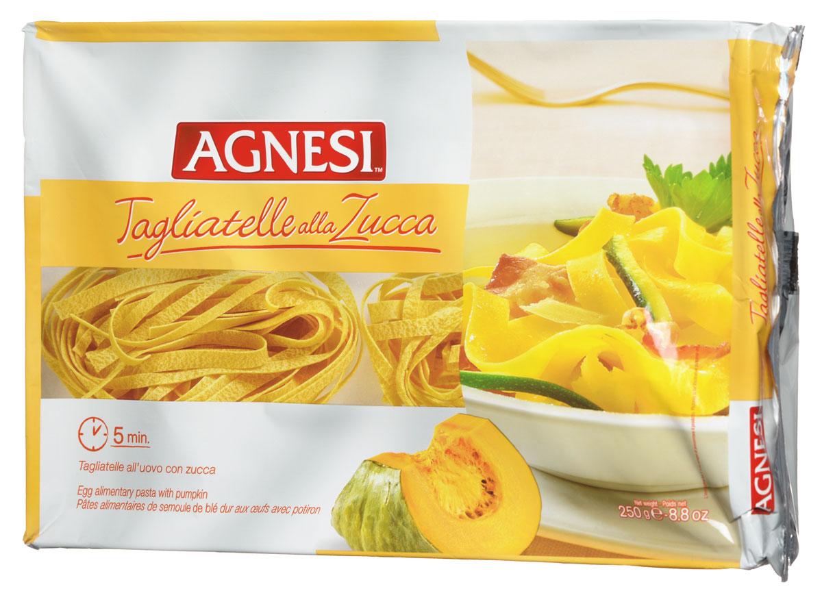 Agnesi Тальятелли с тыквой и томатами макароны, 250 г