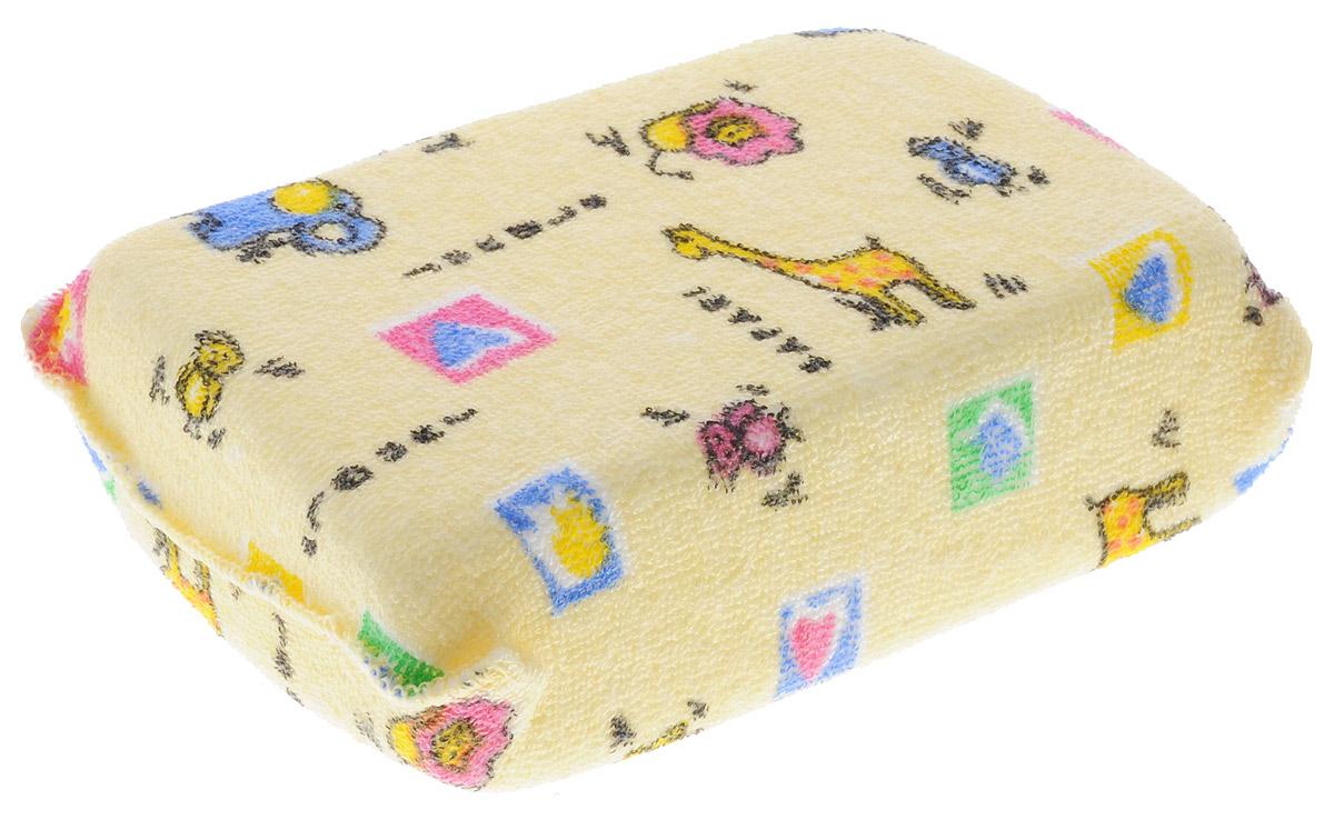 Canpol Babies Губка для купания Terry цвет желтый