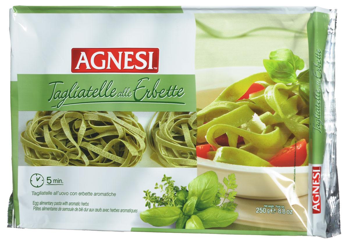 Agnesi Тальятелли с пряными травами макароны, 250 г