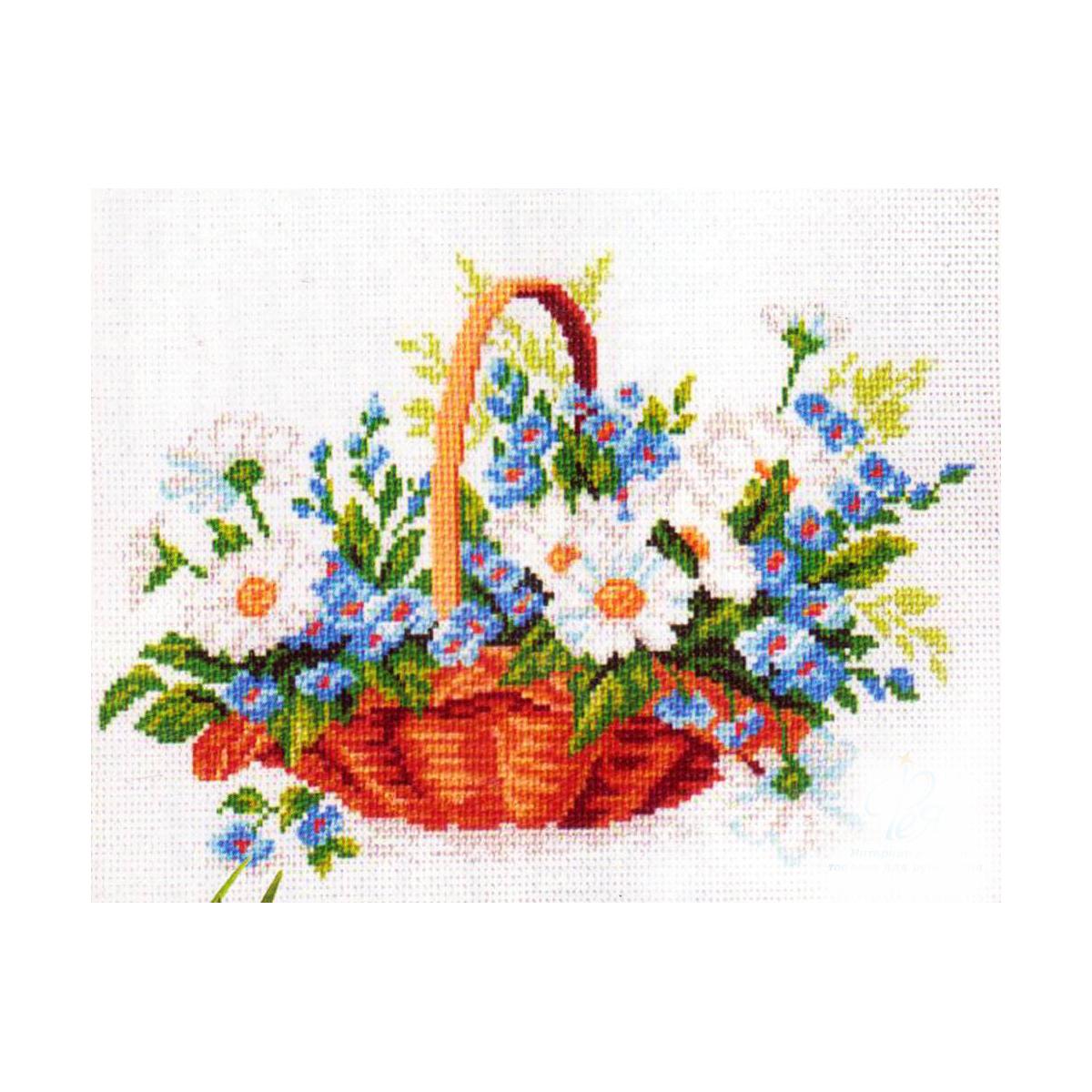Набор для вышивания Матренин Посад. 816176122Размер: 24x30 см Рисунок полностью напечатан на канве. Указана цветовая карта ниток. Вышивать рекомендуется мулине в 3 сложения.