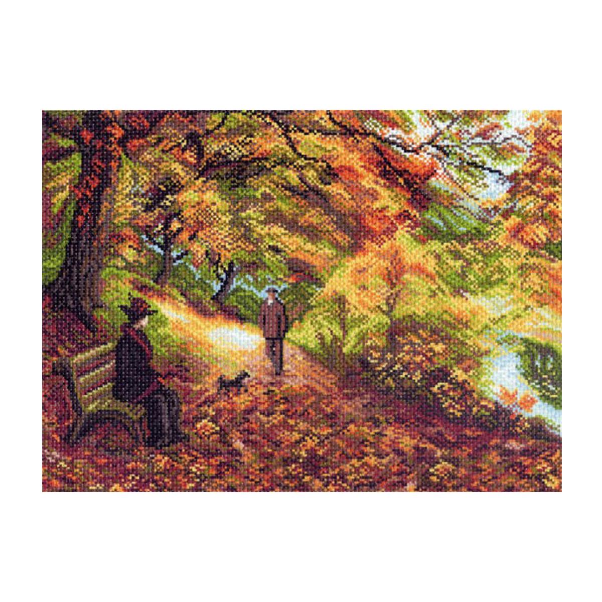Канва с рисунком Матренин Посад Встреча, 33 см х 45 см. 1411549930Размер: 33x45 см Рисунок полностью напечатан на канве. Указана цветовая карта ниток. Вышивать рекомендуется мулине в 3 сложения.