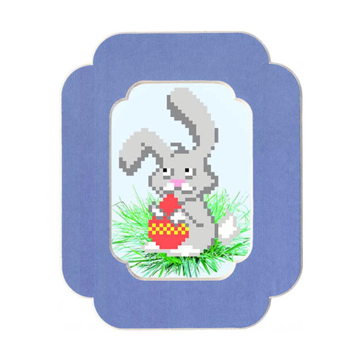 Наборы для вышивания с бисером и паспарту Матренин Посад Пасхальный кролик, 13 см х 18 см. 90/БП699463В состав набора входит: ткань с нанесенным рисунком, бисер, нить для пришива бисера, бабинка для нитки, игла для бисера, инструкция, паспарту с фигурным вырезом, цвет фиолетовый. Размер паспарту 13x18. Размер рисунка 7x10.