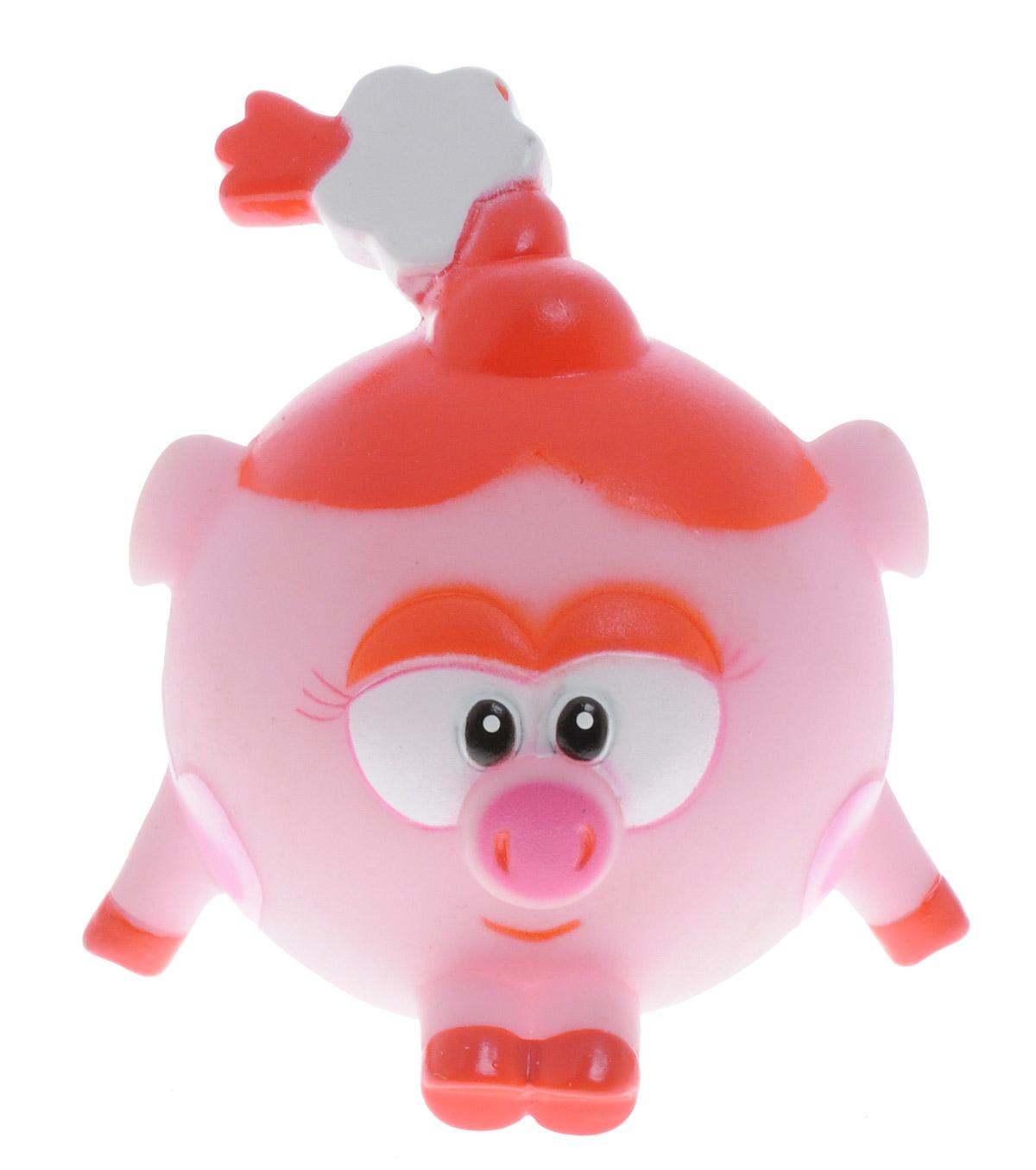 Смешарики Игрушка для ванной НюшаGT7891_нюшаИгрушка для ванной Смешарики Нюша превратит купание вашего малыша в интересную и веселую игру. Герой любимого мультфильма выполнен из высококачественного безопасного материала. С такой игрушкой вы вместе с вашим ребенком сможете придумать бессчетное количество веселых игр и историй. Нюша умеет произносить 5 фраз из мультфильма! Игрушка способствует развитию внимательности, мелкой моторики рук, воображения, зрительного восприятия.