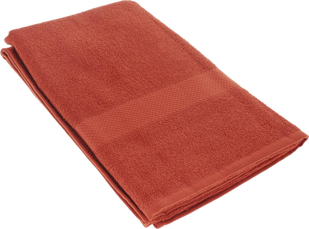 Полотенце махровое TAC Touchsoft, цвет: терракотовый, 70 x 140 см. 09030903-84021Полотенце TAC Touchsoft выполнено из натуральной махровой ткани (100% хлопок). Изделие отлично впитывает влагу, быстро сохнет, сохраняет яркость цвета и не теряет форму даже после многократных стирок. Полотенце очень практично и неприхотливо в уходе. Оно создаст прекрасное настроение и украсит интерьер в ванной комнате.