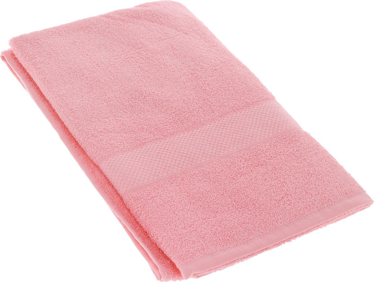 Полотенце махровое TAC Touchsoft, цвет: розовый, 70 x 140 см. 09030903-84009Полотенце TAC Touchsoft выполнено из натуральной махровой ткани (100% хлопок). Изделие отлично впитывает влагу, быстро сохнет, сохраняет яркость цвета и не теряет форму даже после многократных стирок. Полотенце очень практично и неприхотливо в уходе. Оно создаст прекрасное настроение и украсит интерьер в ванной комнате.