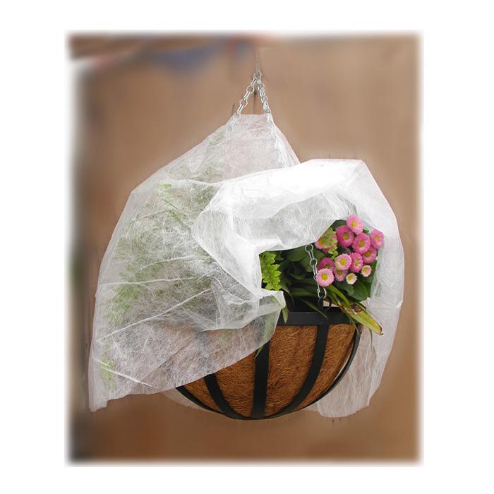 Укрывной материал для подвесных корзин