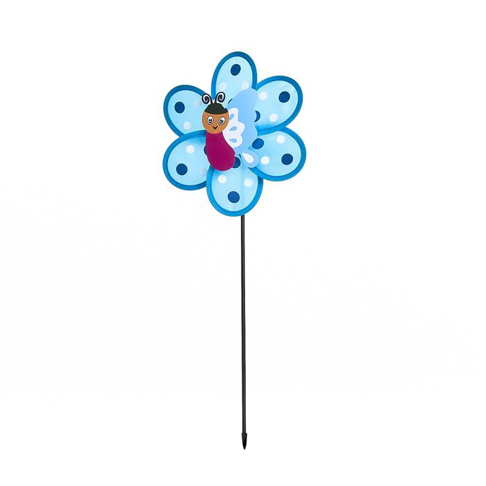 Декоративная фигура-вертушка Village people Карусель, цвет: синий. 66933_366933-3