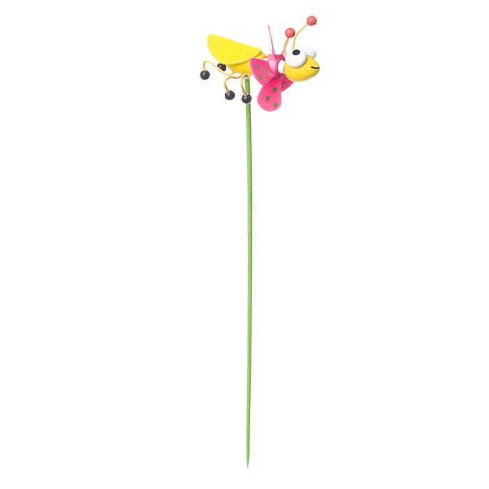 Декоративная фигура-вертушка Village people Веселый жук, цвет: желтый. 68462_368462-3