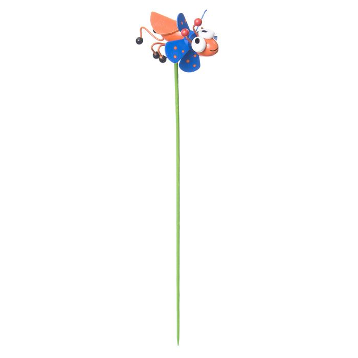Декоративная фигура-вертушка Village people Веселый жук, цвет: оранжевый. 68462_468462-4