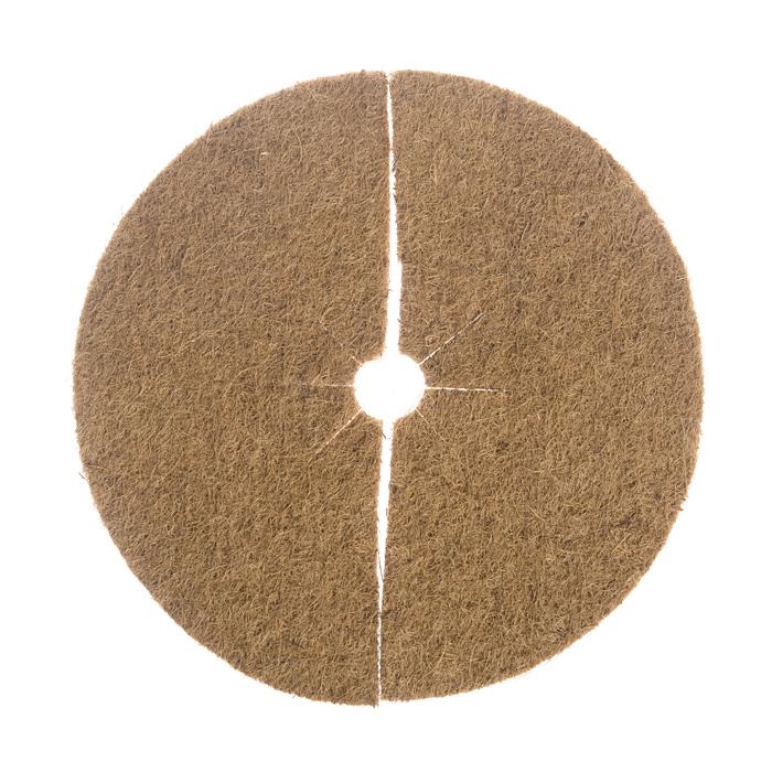 Круг приствольный Village people толщина 6-7 мм, диаметр 45 см, цвет: коричневый. 6861468614Круг приствольный защитит отнасекомых и лишней влаги Ваши растения