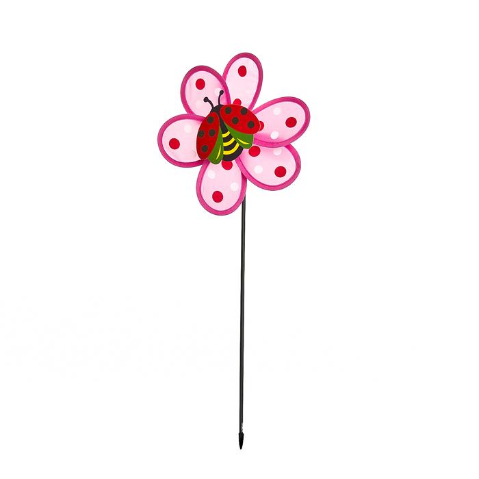 Декоративная фигура-вертушка Village people Карусель, цвет: розовый. 66933_ 166933- 1