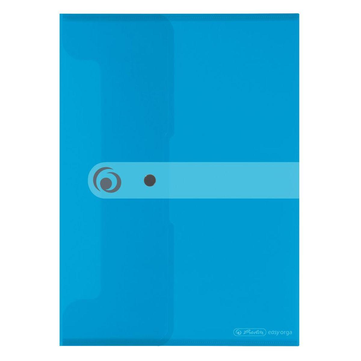 Herlitz Папка-конверт Easy orga формат A4 цвет голубой11206687Папка-конверт для документов от Herlitz Easy orga станет вашим верным помощником дома и в офисе. Это удобный и функциональный инструмент, предназначенный для хранения и транспортировки больших объемов рабочих бумаг и документов формата А4. Папка изготовлена из качественного полипропилена. Состоит из одного вместительного отделения. Закрывается папка просто и удобно при помощи кнопки, которая ее надежно фиксирует. Папка - это незаменимый атрибут для любого студента, школьника или офисного работника. Такая папка надежно сохранит ваши бумаги и сбережет их от повреждений, пыли и влаги.