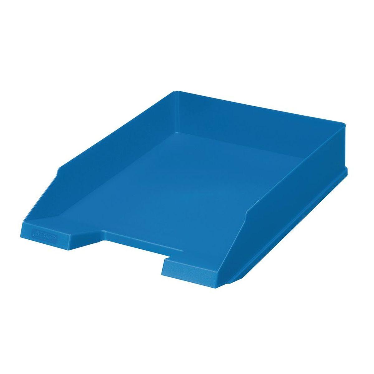 Herlitz Лоток для бумаг Colour Blocking цвет синий