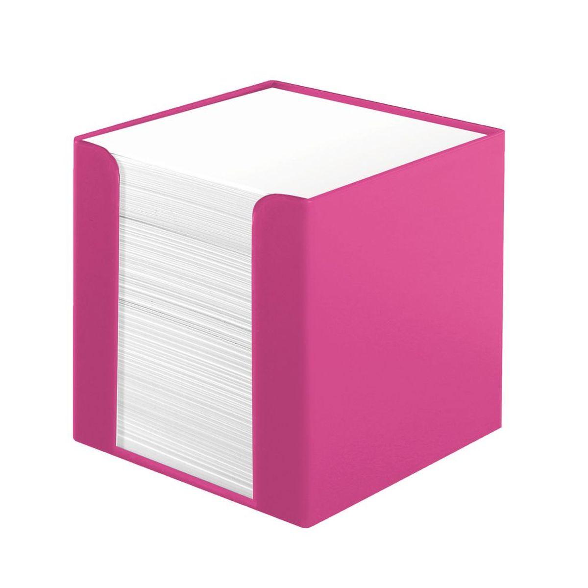 Herlitz Бумага для заметок Colour Blocking цвет подставки розовый11365038Бумага для заметок Herlitz Сolour Blocking - это удобное и практическое решение для быстрой записи информации дома или на работе. Блок состоит из листов белой бумаги и находится в пластиковой подставке в виде куба, которая вмещает в себя 700 листов. Игривый розовый цвет - по-настоящему яркое зрелище, способное всполошить дерзкими расцветками размеренность повседневности.