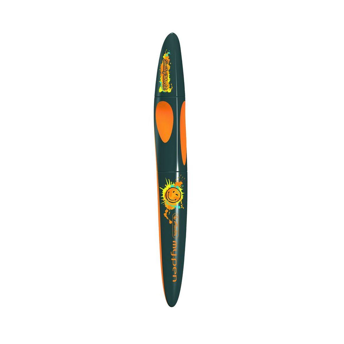 Herlitz Ручка-роллер Smiley World Edition11378957Ручка-роллер Herlitz Smiley World Edition оснащена пластиковым корпусом с эргономичной зоной охвата и вставками из резины, удобна для правшей и левшей. Благодаря сменным картриджам роллера со встроенной системой подачи чернил,эта ручка никогда не подведет вас. С ее помощью вы также можете стереть другие чернила.