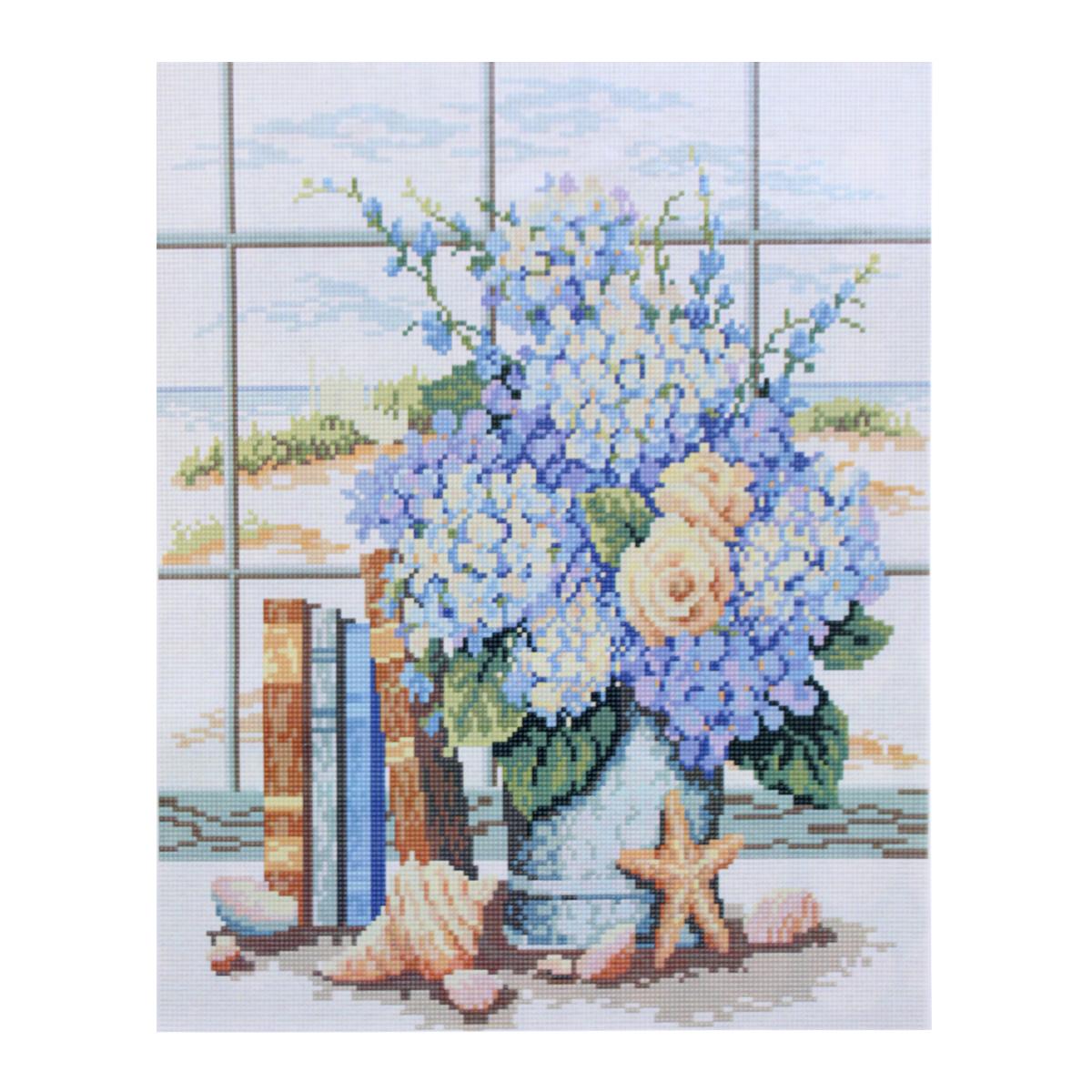 Алмазная мозаика Cristal, на деревянном подрамнике, 40 х 50 см. 77129877712987/GZ054Набор для творчества Cristal поможет вам создать свой личный шедевр - красивую картину, выполненную в мозаичной технике. Выложите прекрасную картину из множества маленьких цветных камушков. С помощью пинцета камушки размещаются на холсте, в результате проявляется рисунок. Постепенно заполняя ряд за рядом, вы создадите чудесное переливающееся изображение. Каждый камушек выполнен из прочного материала. Работа, выполненная своими руками, станет отличным подарком для друзей и близких! В набор входит: - Основа картины с нанесенной схемой на деревянной раме; - Ключи к схеме; - Комплект искусственных камней (32 цвета); - Желеобразный клей; - Пинцет; - Прозрачный клей; - Пластиковая ручка; - Пластмассовый лоток для камней; - Металлические крепления для готовой работы. Диаметр камушка: 2,5 мм. Размер готового изделия: 40 х 50 см.