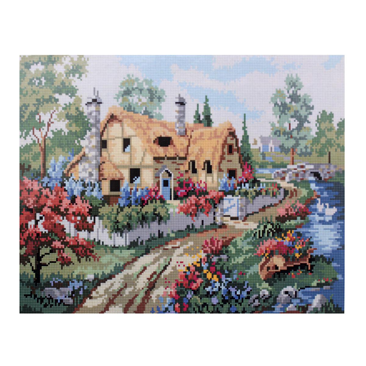 Алмазная мозаика Cristal, на деревянном подрамнике, 40 х 50 см. 77130007713000/GZ023Набор для творчества Cristal поможет вам создать свой личный шедевр - красивую картину, выполненную в мозаичной технике. Выложите прекрасную картину из множества маленьких цветных камушков. С помощью пинцета камушки размещаются на холсте, в результате проявляется рисунок. Постепенно заполняя ряд за рядом, вы создадите чудесное переливающееся изображение. Каждый камушек выполнен из прочного материала. Работа, выполненная своими руками, станет отличным подарком для друзей и близких! В набор входит: - Основа картины с нанесенной схемой на деревянной раме; - Ключи к схеме; - Комплект искусственных камней (30 цветов); - Желеобразный клей; - Пинцет; - Прозрачный клей; - Пластиковая ручка; - Пластмассовый лоток для камней; - Металлические крепления для готовой работы. Диаметр камушка: 2,5 мм. Размер готового изделия: 40 х 50 см.