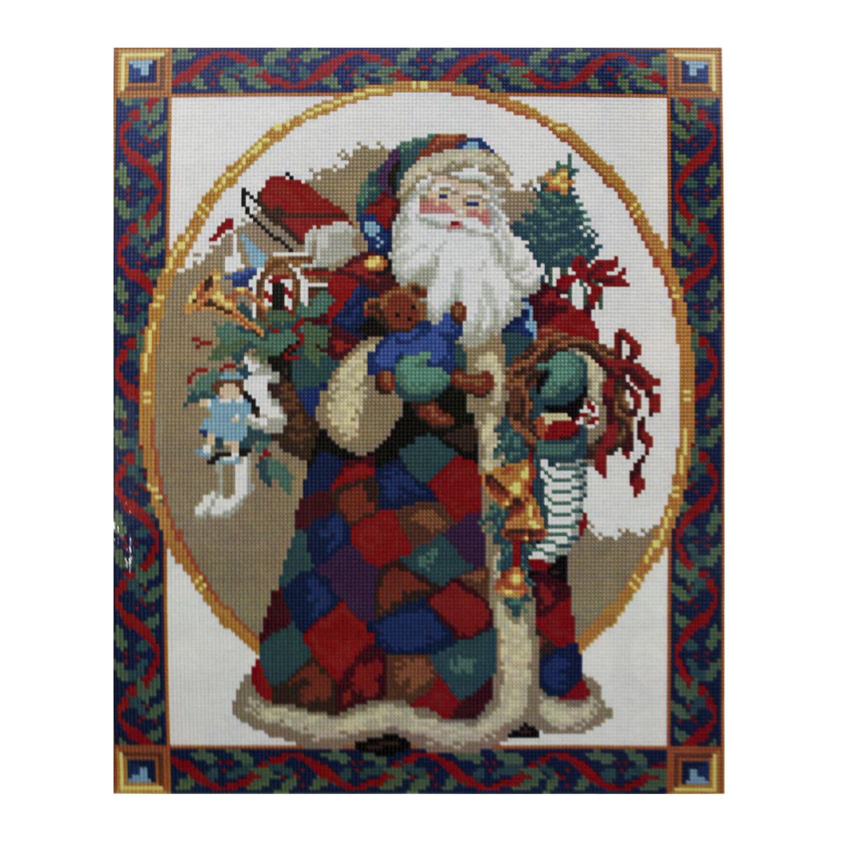 Алмазная мозаика Cristal, на деревянном подрамнике, 40 х 50 см. 77130017713001/GZ028Набор для творчества Cristal поможет вам создать свой личный шедевр - красивую картину, выполненную в мозаичной технике. Выложите прекрасную картину из множества маленьких цветных камушков. С помощью пинцета камушки размещаются на холсте, в результате проявляется рисунок. Постепенно заполняя ряд за рядом, вы создадите чудесное переливающееся изображение. Каждый камушек выполнен из прочного материала. Работа, выполненная своими руками, станет отличным подарком для друзей и близких! В набор входит: - Основа картины с нанесенной схемой на деревянной раме; - Ключи к схеме; - Комплект искусственных камней (30 цветов); - Желеобразный клей; - Пинцет; - Прозрачный клей; - Пластиковая ручка; - Пластмассовый лоток для камней; - Металлические крепления для готовой работы. Диаметр камушка: 2,5 мм. Размер готового изделия: 40 х 50 см.