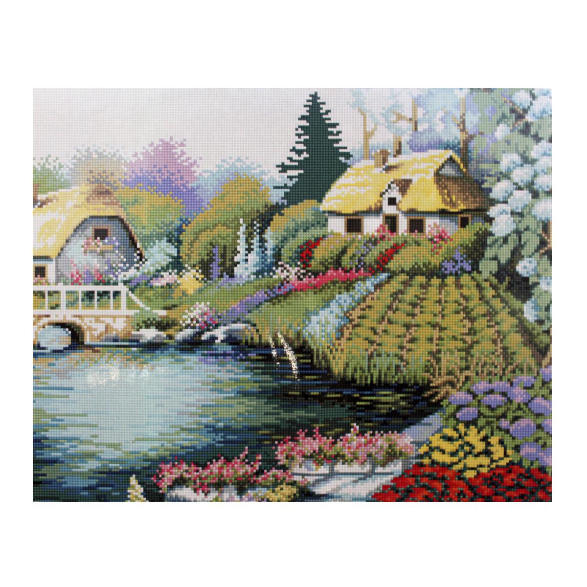 Алмазная мозаика Cristal, на деревянном подрамнике, 40 х 50 см. 77130257713025/GZ016Набор для творчества Cristal поможет вам создать свой личный шедевр - красивую картину, выполненную в мозаичной технике. Выложите прекрасную картину из множества маленьких цветных камушков. С помощью пинцета камушки размещаются на холсте, в результате проявляется рисунок. Постепенно заполняя ряд за рядом, вы создадите чудесное переливающееся изображение. Каждый камушек выполнен из прочного материала. Работа, выполненная своими руками, станет отличным подарком для друзей и близких! В набор входит: - Основа картины с нанесенной схемой на деревянной раме; - Ключи к схеме; - Комплект искусственных камней (35 цветов); - Желеобразный клей; - Пинцет; - Прозрачный клей; - Пластиковая ручка; - Пластмассовый лоток для камней; - Металлические крепления для готовой работы. Диаметр камушка: 2,5 мм. Размер готового изделия: 40 х 50 см.