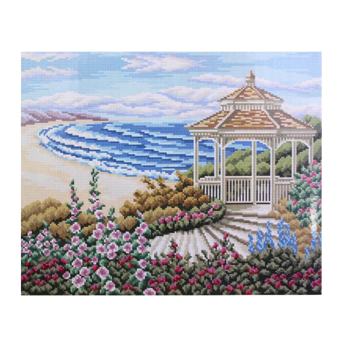 Алмазная мозаика Cristal, на деревянном подрамнике, 40 х 50 см. 77130277713027/GZ018Набор для творчества Cristal поможет вам создать свой личный шедевр - красивую картину, выполненную в мозаичной технике. Выложите прекрасную картину из множества маленьких цветных камушков. С помощью пинцета камушки размещаются на холсте, в результате проявляется рисунок. Постепенно заполняя ряд за рядом, вы создадите чудесное переливающееся изображение. Каждый камушек выполнен из прочного материала. Работа, выполненная своими руками, станет отличным подарком для друзей и близких! В набор входит: - Основа картины с нанесенной схемой на деревянной раме; - Ключи к схеме; - Комплект искусственных камней (34 цвета); - Желеобразный клей; - Пинцет; - Прозрачный клей; - Пластиковая ручка; - Пластмассовый лоток для камней; - Металлические крепления для готовой работы. Диаметр камушка: 2,5 мм. Размер готового изделия: 40 х 50 см.