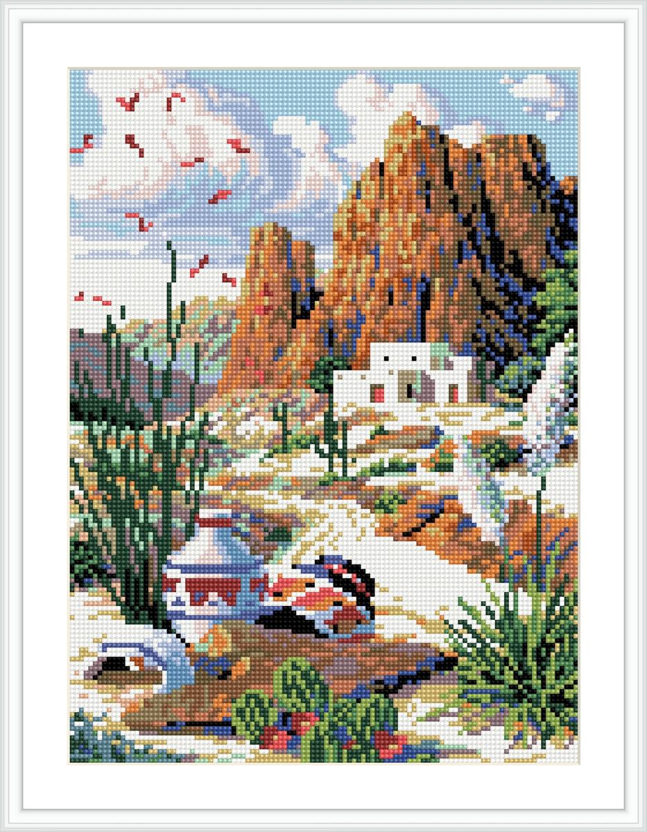 Алмазная мозаика Cristal, на деревянном подрамнике, 30 х 40 см. 77130377713037/EZ007Набор для творчества Cristal поможет вам создать свой личный шедевр - красивую картину, выполненную в мозаичной технике. Выложите прекрасную картину из множества маленьких цветных камушков. С помощью пинцета камушки размещаются на холсте, в результате проявляется рисунок. Постепенно заполняя ряд за рядом, вы создадите чудесное переливающееся изображение. Каждый камушек выполнен из прочного материала. Работа, выполненная своими руками, станет отличным подарком для друзей и близких! В набор входит: - Основа картины с нанесенной схемой на деревянной раме; - Ключи к схеме; - Комплект искусственных камней (26 цветов); - Желеобразный клей; - Пинцет; - Прозрачный клей; - Пластиковая ручка; - Пластмассовый лоток для камней; - Металлические крепления для готовой работы. Диаметр камушка: 2,5 мм. Размер готового изделия: 30 х 40 см. УВААЖАЕМЫЕ ПОКУПАТЕЛИ! Обращаем ваше внимание на...