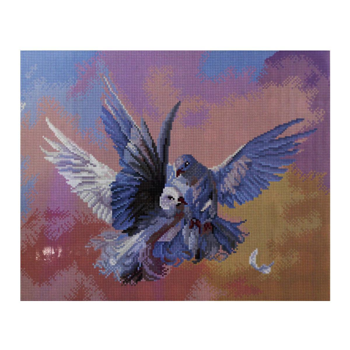 Алмазная мозаика Cristal, на деревянном подрамнике, 40 х 50 см. 77130767713076/GZ315Набор для творчества Cristal поможет вам создать свой личный шедевр - красивую картину, выполненную в мозаичной технике. Выложите прекрасную картину из множества маленьких цветных камушков. С помощью пинцета камушки размещаются на холсте, в результате проявляется рисунок. Постепенно заполняя ряд за рядом, вы создадите чудесное переливающееся изображение. Каждый камушек выполнен из прочного материала. Работа, выполненная своими руками, станет отличным подарком для друзей и близких! В набор входит: - Основа картины с нанесенной схемой на деревянной раме; - Ключи к схеме; - Комплект искусственных камней (31 цвет); - Желеобразный клей; - Пинцет; - Прозрачный клей; - Пластиковая ручка; - Пластмассовый лоток для камней; - Металлические крепления для готовой работы. Диаметр камушка: 2,5 мм. Размер готового изделия: 40 х 50 см.