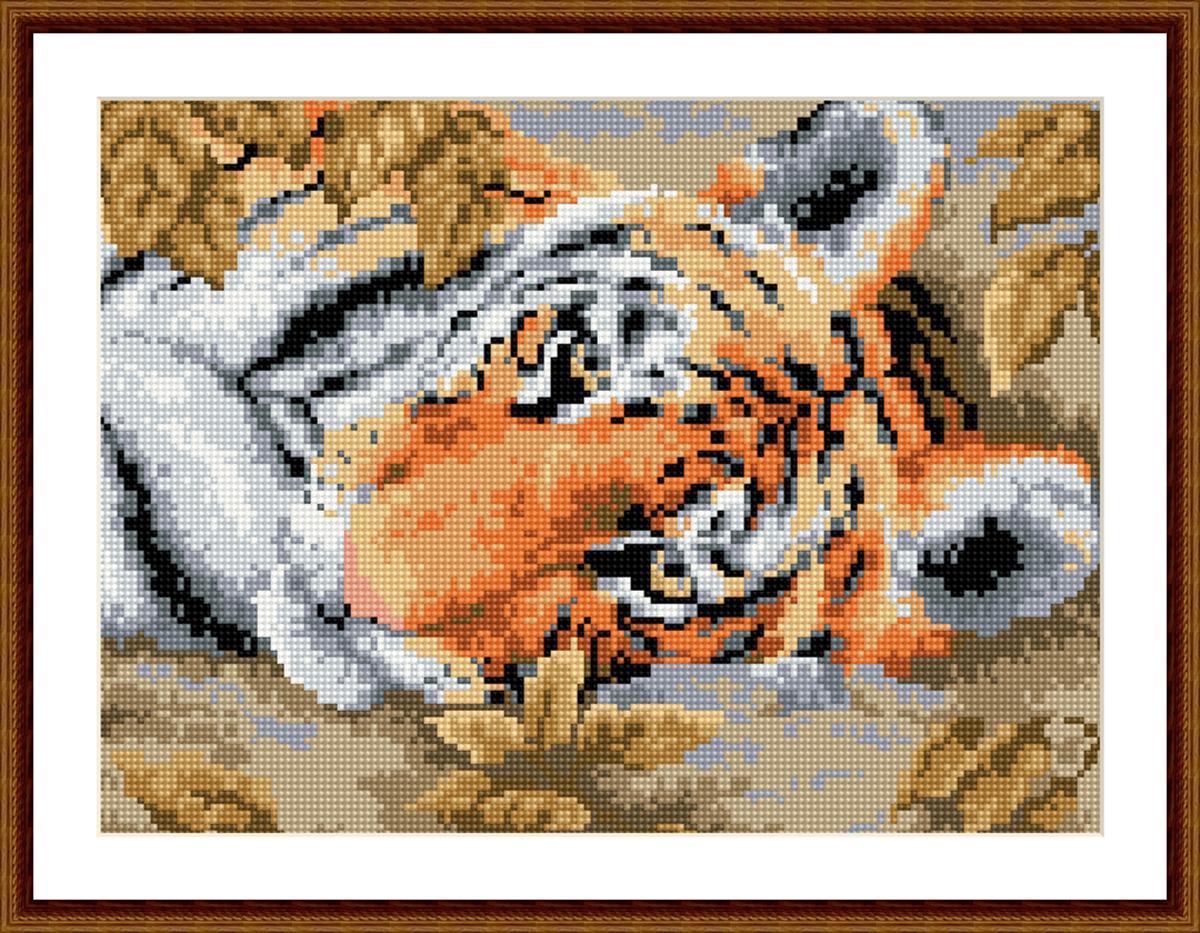 Алмазная мозаика Cristal, на деревянном подрамнике, 30 х 40 см. 77139147713914/EZ016Набор для творчества Cristal поможет вам создать свой личный шедевр - красивую картину, выполненную в мозаичной технике. Выложите прекрасную картину из множества маленьких цветных камушков. С помощью пинцета камушки размещаются на холсте, в результате проявляется рисунок. Постепенно заполняя ряд за рядом, вы создадите чудесное переливающееся изображение. Каждый камушек выполнен из прочного материала. Работа, выполненная своими руками, станет отличным подарком для друзей и близких! В набор входит: - Основа картины с нанесенной схемой на деревянной раме; - Ключи к схеме; - Комплект искусственных камней (17 цветов); - Желеобразный клей; - Пинцет; - Прозрачный клей; - Пластиковая ручка; - Пластмассовый лоток для камней; - Металлические крепления для готовой работы. Диаметр камушка: 2,5 мм. Размер готового изделия: 30 х 40 см. УВААЖАЕМЫЕ ПОКУПАТЕЛИ! Обращаем ваше внимание на...