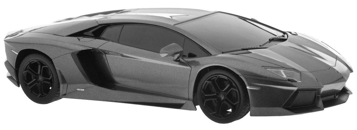 1TOY Радиоуправляемая модель TopGear Lamborghini 700 цвет темно-серый масштаб 1:24Т56679_темно-серыйВсе мальчишки любят мощные крутые тачки! Особенно если это дорогие машины известной марки, которые, проезжая по улице, обращают на себя восторженные взгляды пешеходов. Радиоуправляемая модель TopGear Lamborghini 700 - это детальная копия существующего автомобиля в масштабе 1:24. Машинка изготовлена из прочного легкого пластика; колеса прорезинены. При движении передние и задние фары машины светятся. При помощи пульта управления автомобиль может перемещаться вперед, дает задний ход, поворачивает влево и вправо, останавливается. Встроенные амортизаторы обеспечивают комфортное движение. В комплект входят машинка и пульт управления. Автомобиль отличается потрясающей маневренностью и динамикой. Ваш ребенок часами будет играть с моделью, устраивая захватывающие гонки. Машина работает от 4 батареек напряжением 1,5V типа АА (не входят в комплект). Пульт управления работает от 2 батареек напряжением 1,5V типа АА (не входят в комплект).
