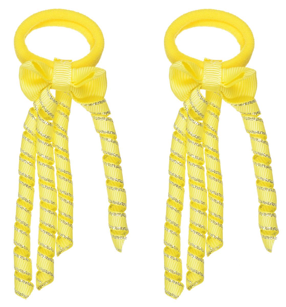 Baby's Joy Резинка для волос цвет желтый 2 шт VT 75/2