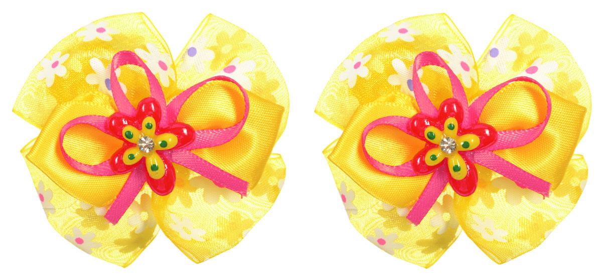 Baby's Joy Резинка для волос цвет желтый 2 шт MN 38