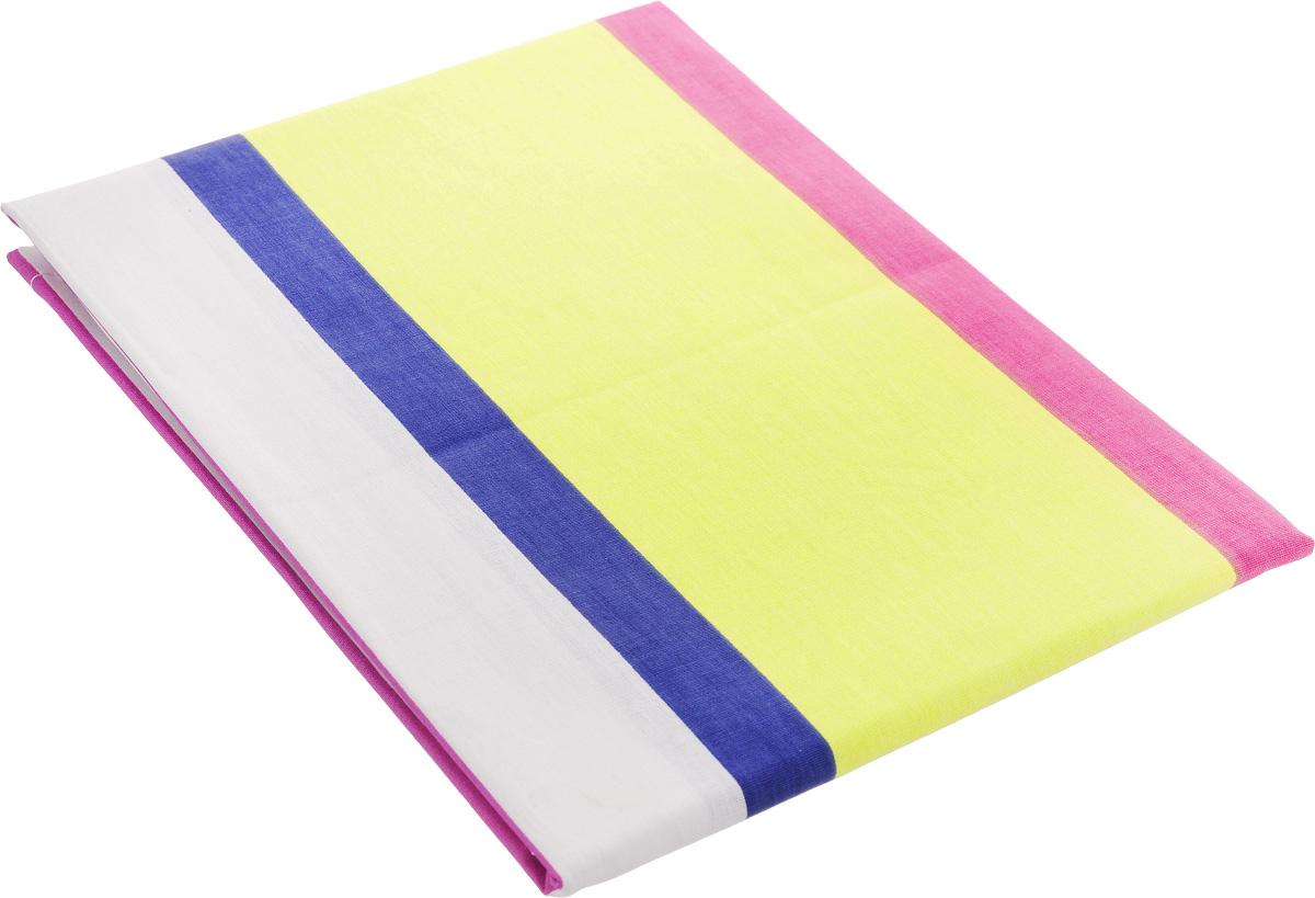 Наволочка Brielle Полосы, цвет: желтый, синий (274), 50 x 70 см3003Наволочка Brielle Полосы выполнена из натурального ранфорса (100% хлопка). Высочайшее качество материала гарантирует безопасность. Наволочка гармонично впишется в интерьер вашего дома и создаст атмосферу уюта и комфорта. Ранфорс - это новая современная ткань из натуральных хлопковых волокон, которая прекрасно впитывает влагу, очень проста в уходе, а за счет высокой прочности способна выдерживать большое количество стирок. Рекомендации по уходу: - режим стирки при 40°C, - допускается деликатная химчистка, - отбеливание запрещено, - глажка при температуре подошвы утюга до 200°С, - рекомендуется щадящий барабанный отжим.
