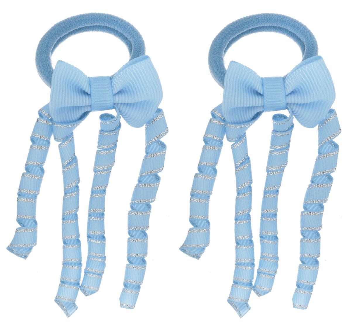 Baby's Joy Резинка для волос цвет голубой 2 шт VT 75/2